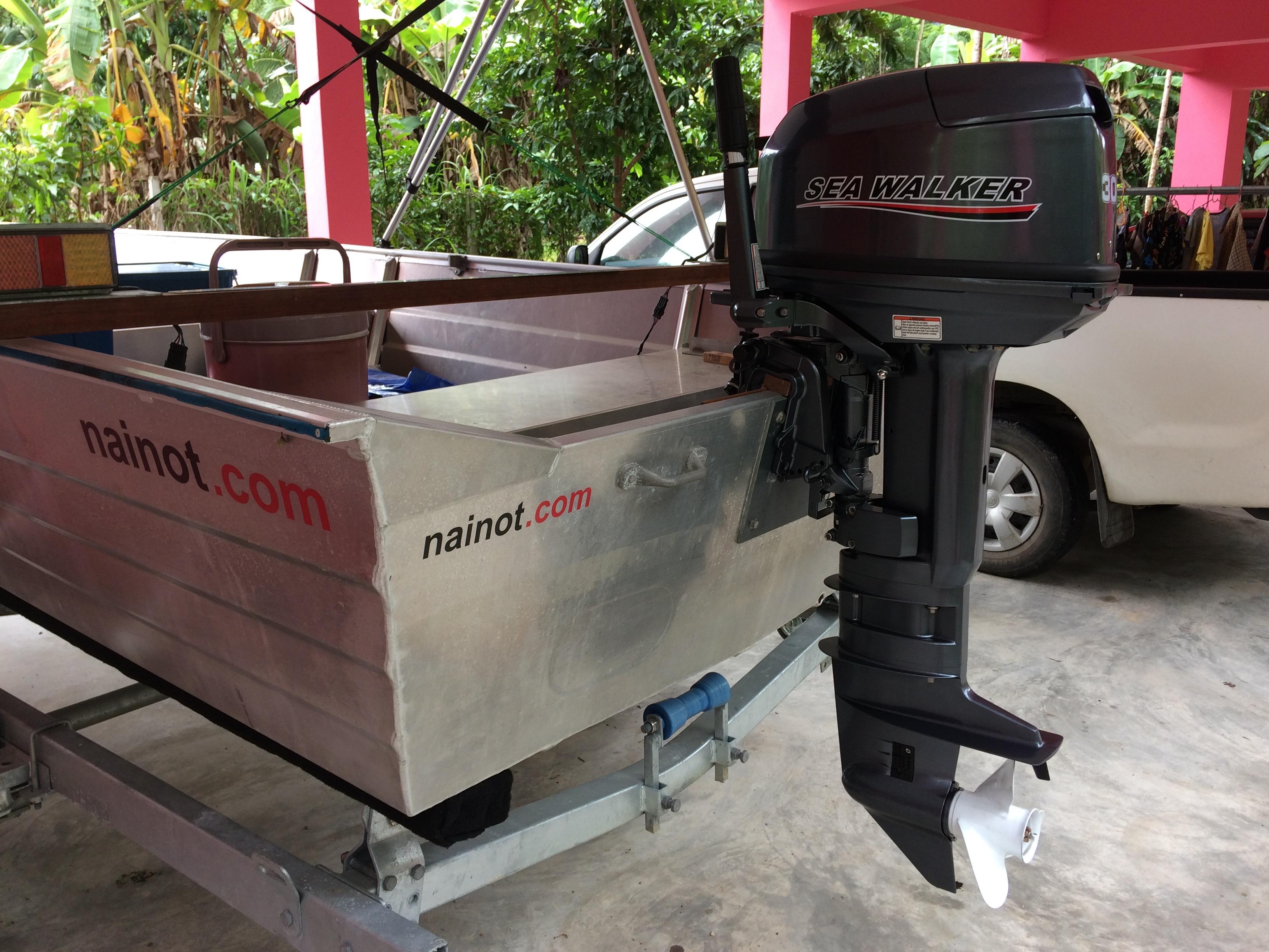 T30EL 30hp 2 stroke water-cooled outboard motor electric start