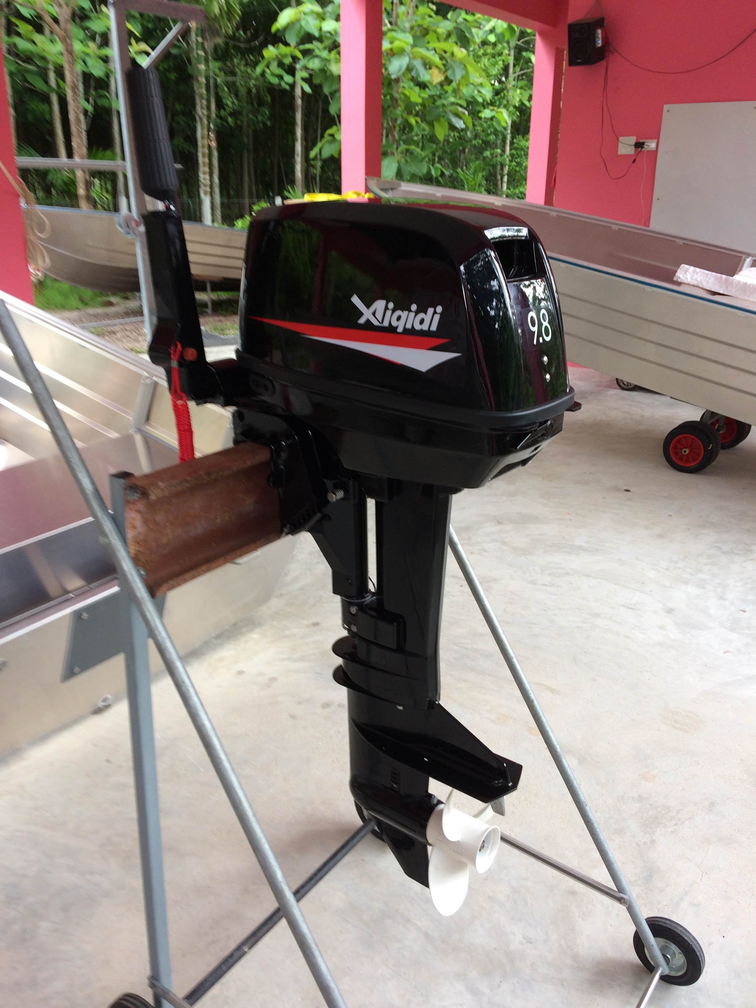 9.8hp 2 stroke water-cooled outboard motor