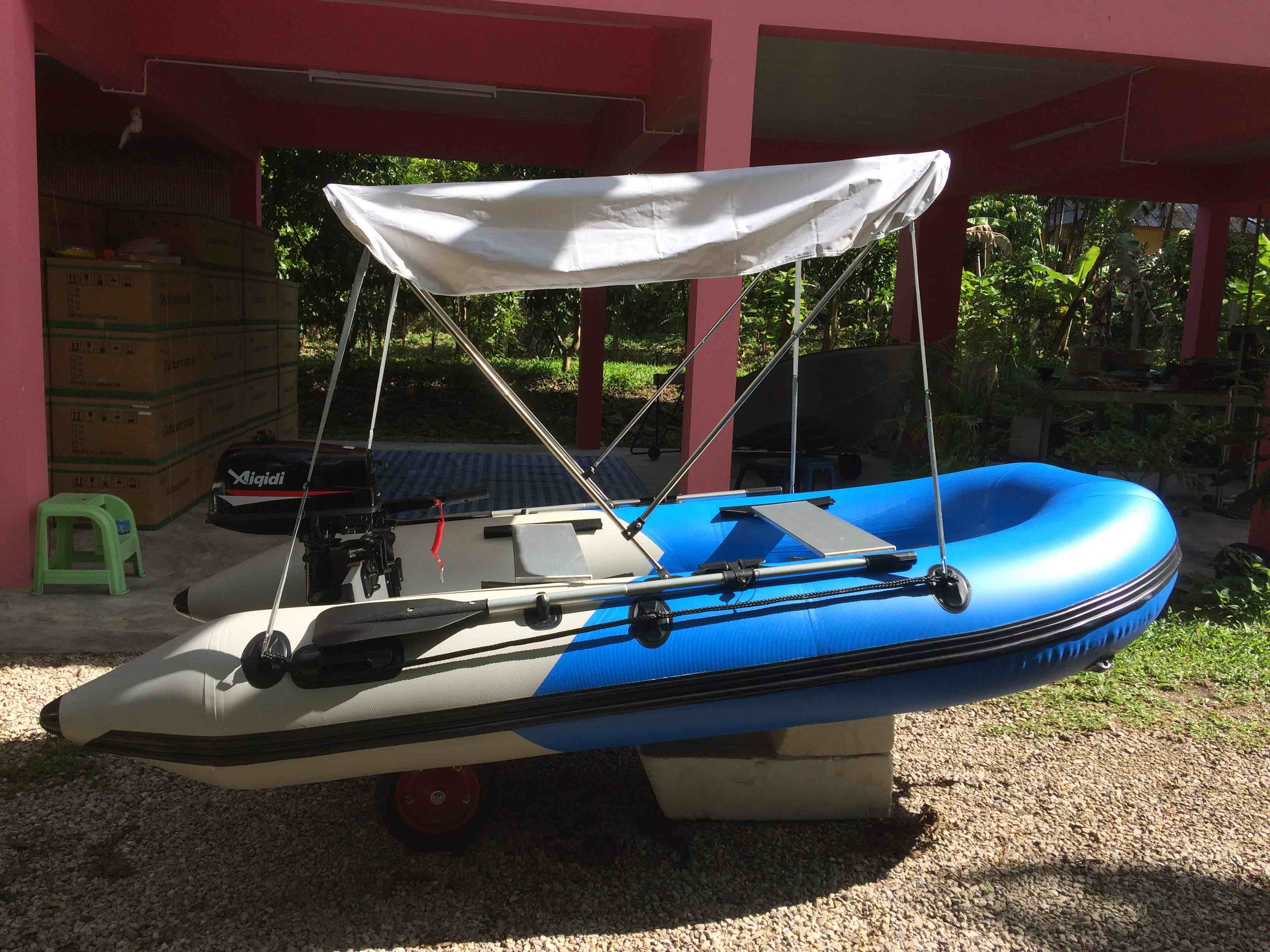 Brand new inflatable boat package: 3.00m inflatable with 7hp 2 s