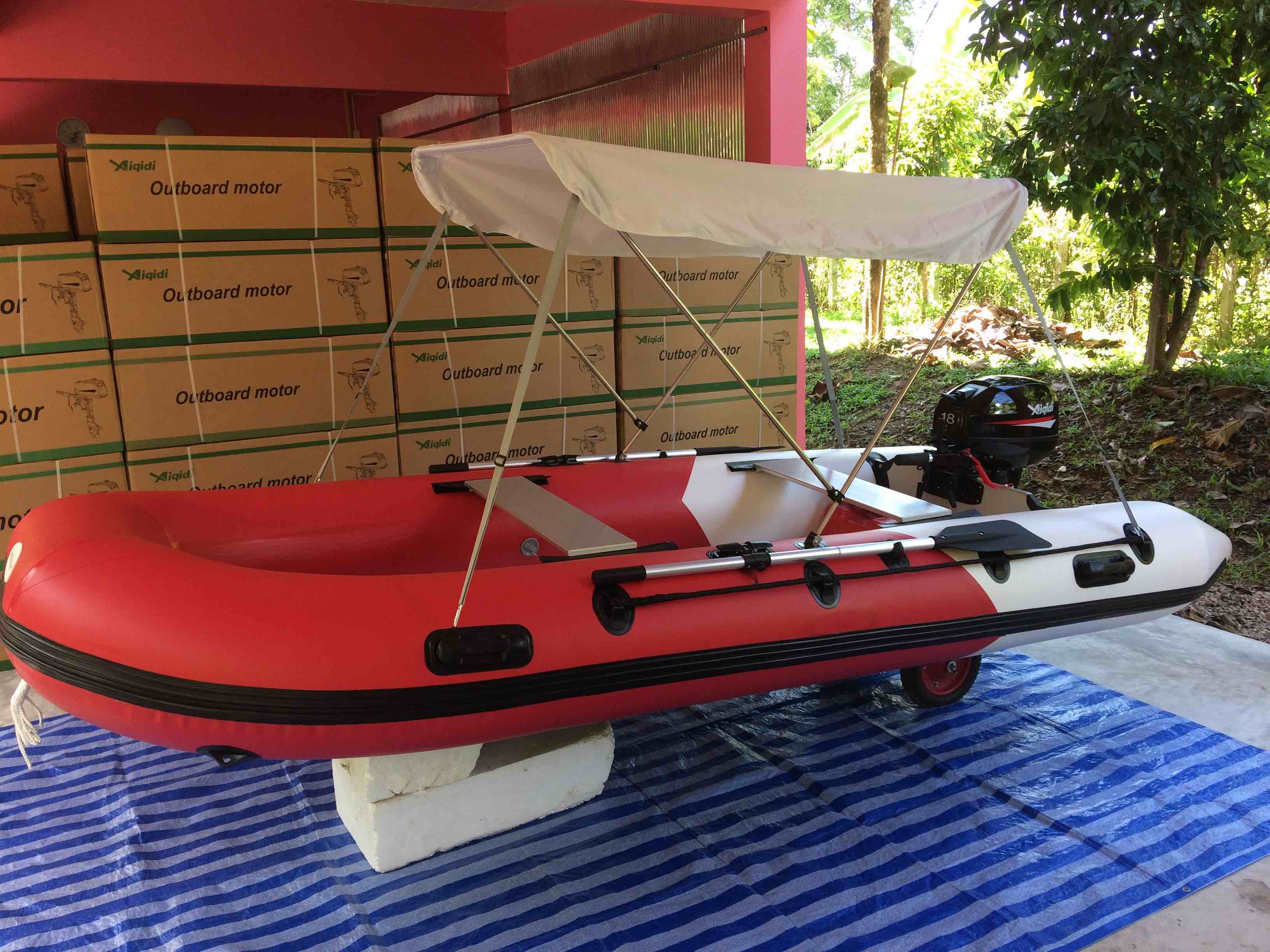 Brand new inflatable boat package: 3.80m inflatable with 18hp 2
