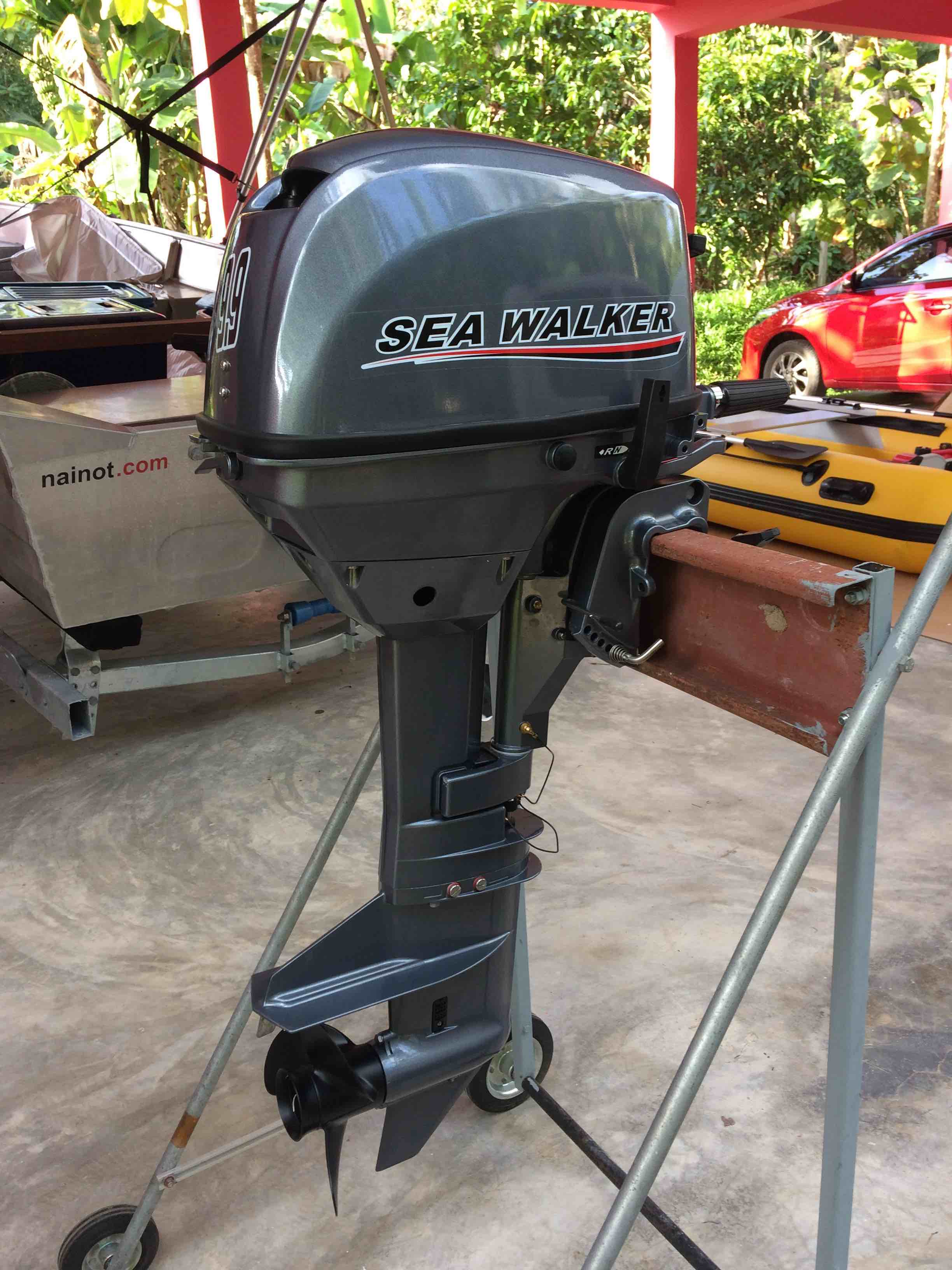 9.9hp 2 stroke water-cooled outboard motor